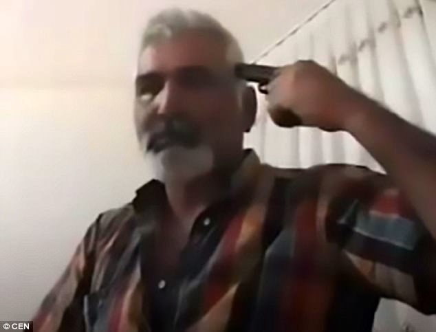 因女兒忤逆他,父親臉書直播「舉槍自殺」讓她後悔一輩子!(影片)