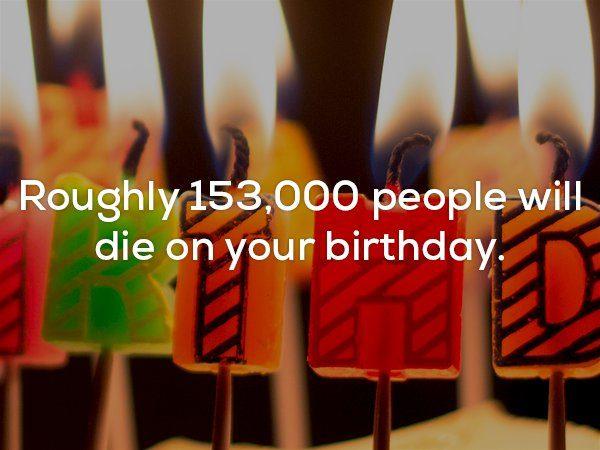 22個讓人不舒服「再看下去牙齒會掉光」的可怕事實 你生日那天有1.5萬人離開這世界...