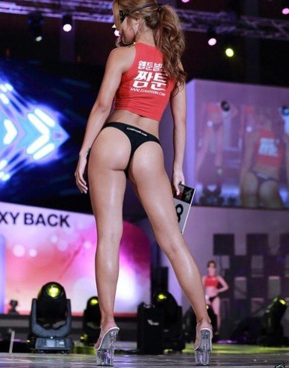 光背影就殺死一堆人!韓國「性感美臀小姐」秀極品傲人S曲線,轉身「火辣正面照」全網鼻血噴了!