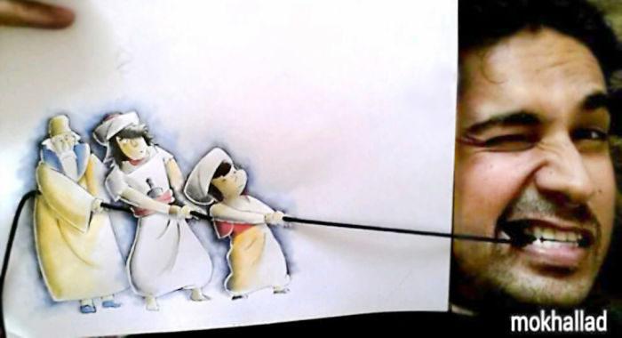 20張讓人差點分不出「虛擬VS現實」混合式藝術