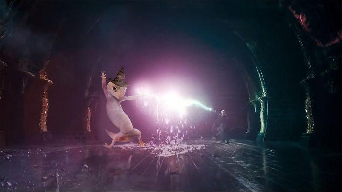 壁虎「超華麗扭身」照片,激發網友腦中創意激素引發新一波P圖大戰! (30張)