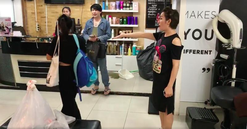 台主播洗霸王頭事件「惹錯人了」!髮廊老闆娘原來是「20萬粉絲網紅」男友超級帥!(影片)