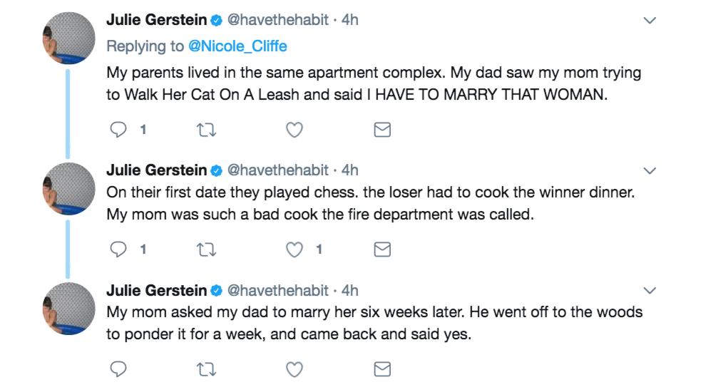 你的父母是怎麼認識的?7個網友分享「踢爆爸媽最糗浪漫往事」!