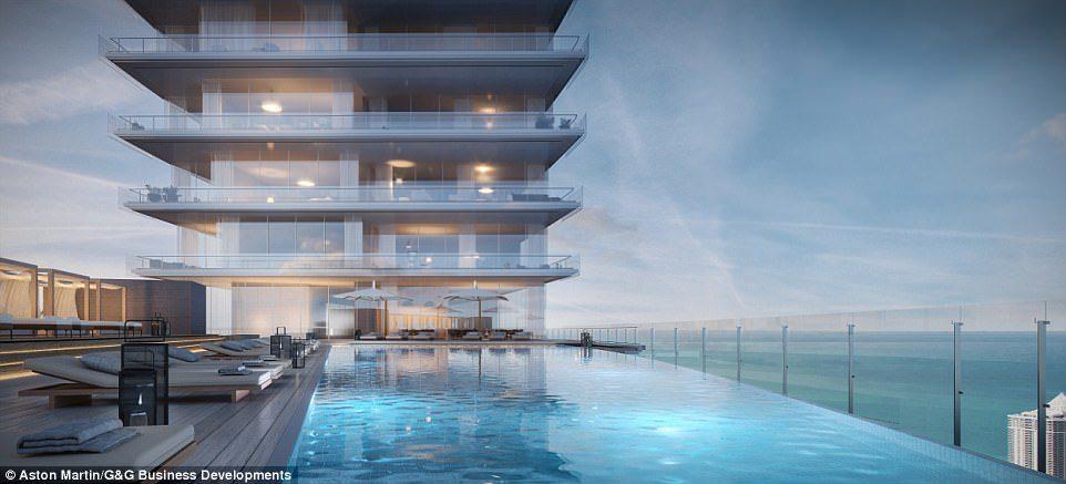 讓你變身龐德!超跑公司奧斯頓馬丁推出首棟「豪華公寓大樓」要價15億,游泳池「180度景觀」美到犯規!(11張)