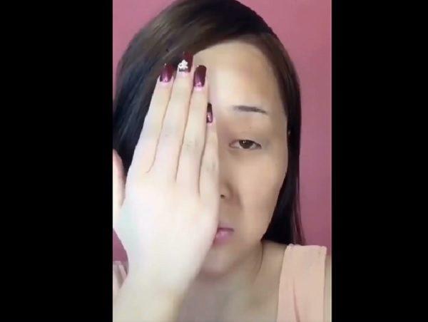 13個女生「半臉化妝+半臉素顏」驚人對比爆紅!不用動刀「完全換一個人」1500萬網友看傻眼!(影片)
