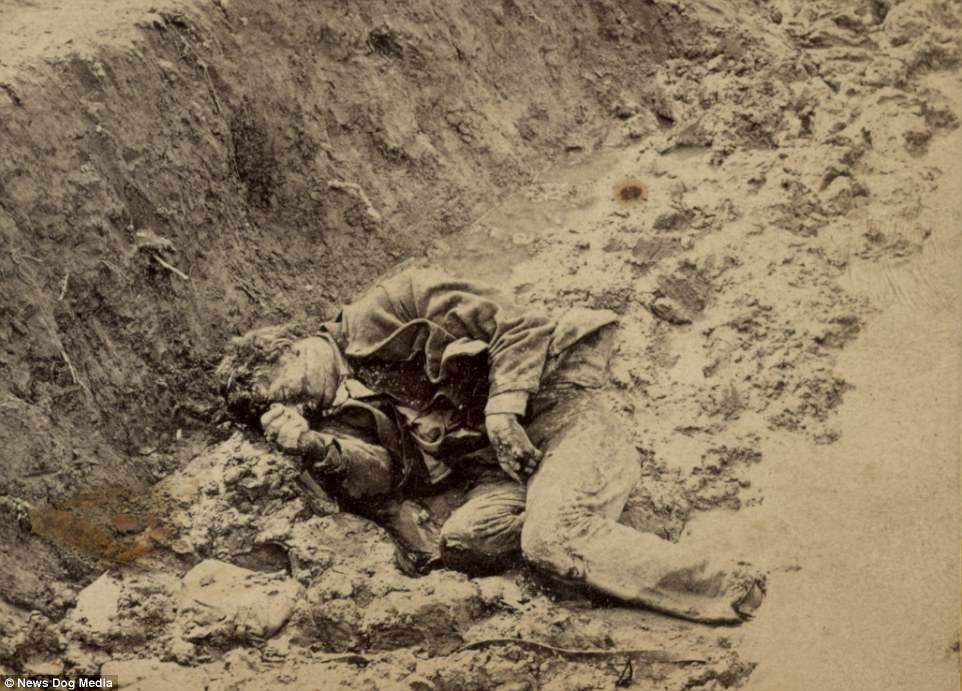 美國史上最慘烈一役南北戰爭「士兵在集中營化為骨骸」恐怖全紀錄。(23張圖)