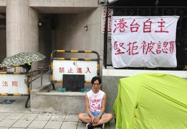 台灣太樂觀了?港人呂智恆立院前絕食籲台灣人認清中共:「還相信一國兩制,中共會殺死你!」