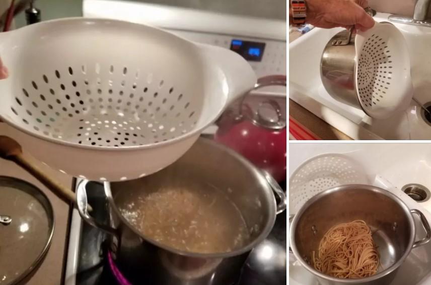許多人都搞錯了!煮義大利麵原來應該要「這樣」把水瀝乾!網友:之前都白活了!