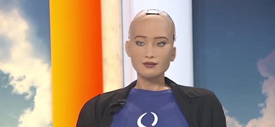 AI機器人上節目向全人類「發出警告」:人類和機器人未來將會開戰!