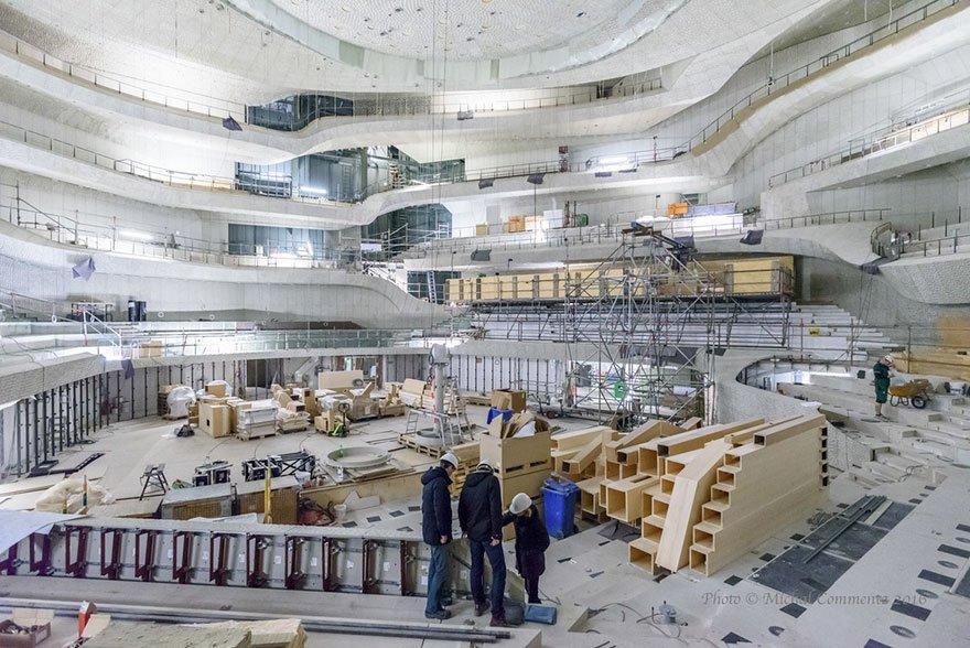 全球最貴音樂廳!長達10年「花費256億」打造,內牆全用「演算法」打造效果驚人!