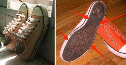 這就是為什麼Converse帆布鞋特別容易壞!其實你穿的根本是「拖鞋」!