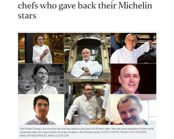 台名廚之光江振誠「退還米其林星星」,決定回家鄉傳承...8位名廚爆料「米其林很不專業」