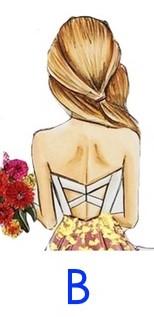 哪一個女孩背影最吸引你?憑直覺回答測出你的「隱藏性格+感情觀」!