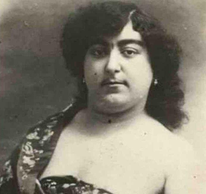 19世紀波斯王朝「第一美公主」照片公開 濃眉大眼讓13男賣命