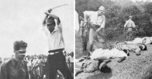 13張歷史課本沒收錄的「二戰時日軍殘忍暴行歷史照」,把活人當槍靶還不是最恐怖的...