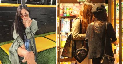 孫芸芸穿梭自家超市「飄出台灣大媽味」,女兒超正「一雙修長腿」曝光!網友:金字塔頂端的基因啊!