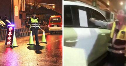 政府想要更多酒駕?!駕駛「自鎖車內躲酒測」確定免罰9萬,法院發聲明:人民沒有接受酒測的義務