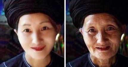 最後的「壓寨夫人」空靈大眼美翻,自願嫁給「粗暴寨主」意外受寵...幸福沒多久卻守寡70年!