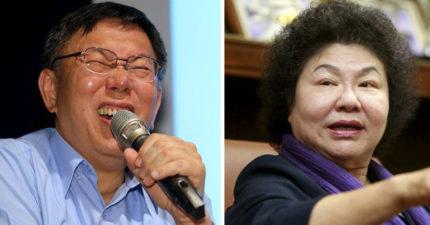 外傳花媽陳菊將競選台北市長,柯文哲再度「口出狂言」暗酸:不會啦!台北市民素質很高!