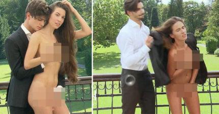 名模大賽「特殊要求」淪A.V現場...女模被逼全裸上陣爆哭,「奶襲哥」爽搓奶、摸下體吃到飽!