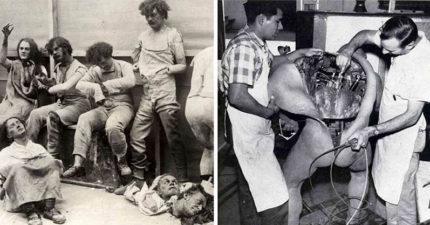 28張「證明歷史就是一團糟」的最怪奇歷史照片。