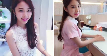 台灣女孩被稱為「全球最性感牙醫助理」私服超惹火「病患常牙痛」,泳衣照能真正看到她的「內在美」!