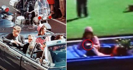 是誰殺了甘迺迪?新證據指向「第一夫人賈姬」,注意她手裡的東西 (影片)