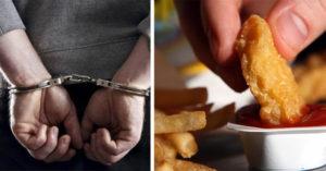 男子去麥當勞點麥克鷄塊點不到,慘被警方逮捕!
