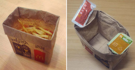 薯條最新吃法「靠1個紙袋」變高檔 零沾手晉升貴族料理