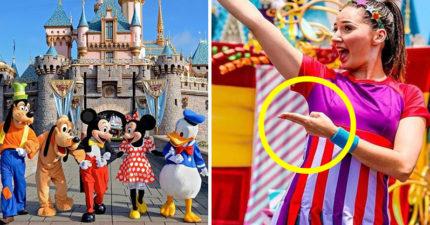 為何迪士尼工作人員都愛比「這種手勢」?員工揭密:其實很常當面罵你