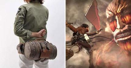 《進擊的巨人》「立體機動裝置機能包」讓你搖身變調查兵團!4種背法展現不同個性,功能讓人口水直流