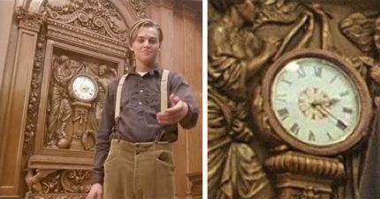 《鐵達尼號》橋段通通有關聯 傑克背後的時鐘很有意義但卻沒人發現!