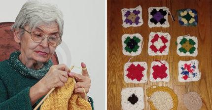 女子PO出阿茲海默症母親數年來的鉤針編織作品,看到大腦慢慢退化歷程令人超鼻酸!