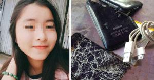 14少女充慘被電死!焦黑屍體手中握「用膠帶修復過的iPhone 6充電線」...蘋果手機電死人不只她!