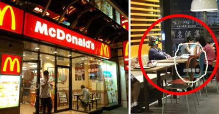 當自己家還自備小檯燈看書!她在麥當勞被台灣媽媽嗆:我家小孩讀文華國小水準很高,請妳安靜!