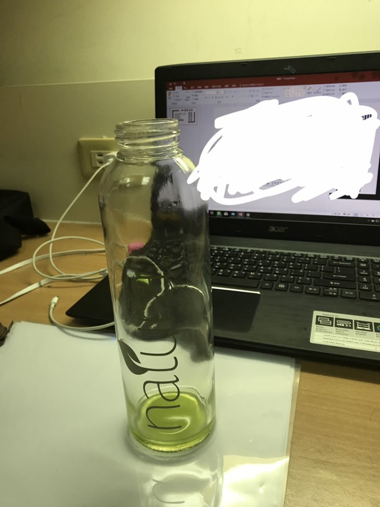 玻璃壺底「綠綠的設計」超有質感!近看「滿滿一片」網友崩潰:含氧量太高
