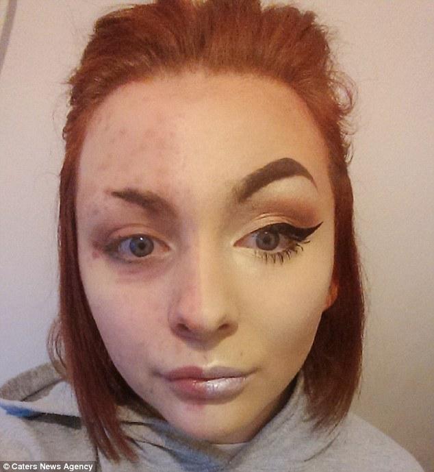 她因生病「素顏太嚴重」慘被秒甩,立志成為「專業彩妝師」讓自己活得更美麗!
