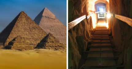 4500年來首次發現金字塔有「神祕停機坪」!網友:外星人來地球的證據