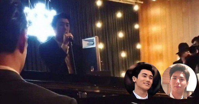 雙宋婚禮「害羞親親照」曝光,晚宴好友還深情演唱情歌祝福! (影片)