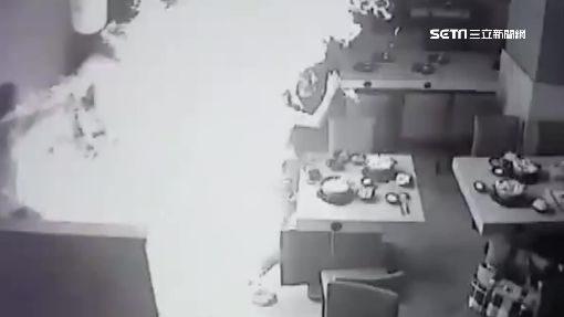 火鍋店氣爆釀7傷!17歲清貧工讀生「正臉慘遭火吻」嚴重灼傷,受傷第一句話:「我會毀容嗎?」爸爸心痛...(影片)