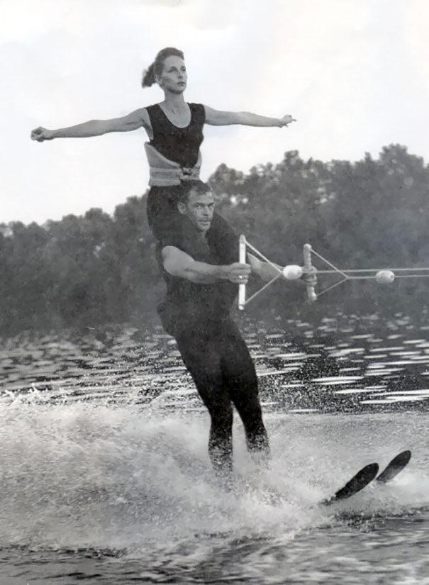 30张爷爷奶奶年轻时「潮到出水」的照片,让孙子们都自叹不如! -5a0baab0cbb63