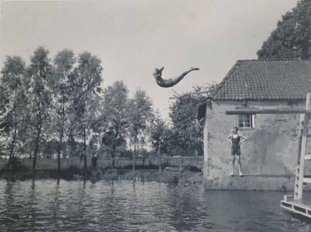 30张爷爷奶奶年轻时「潮到出水」的照片,让孙子们都自叹不如! -5a0baab8a2e32
