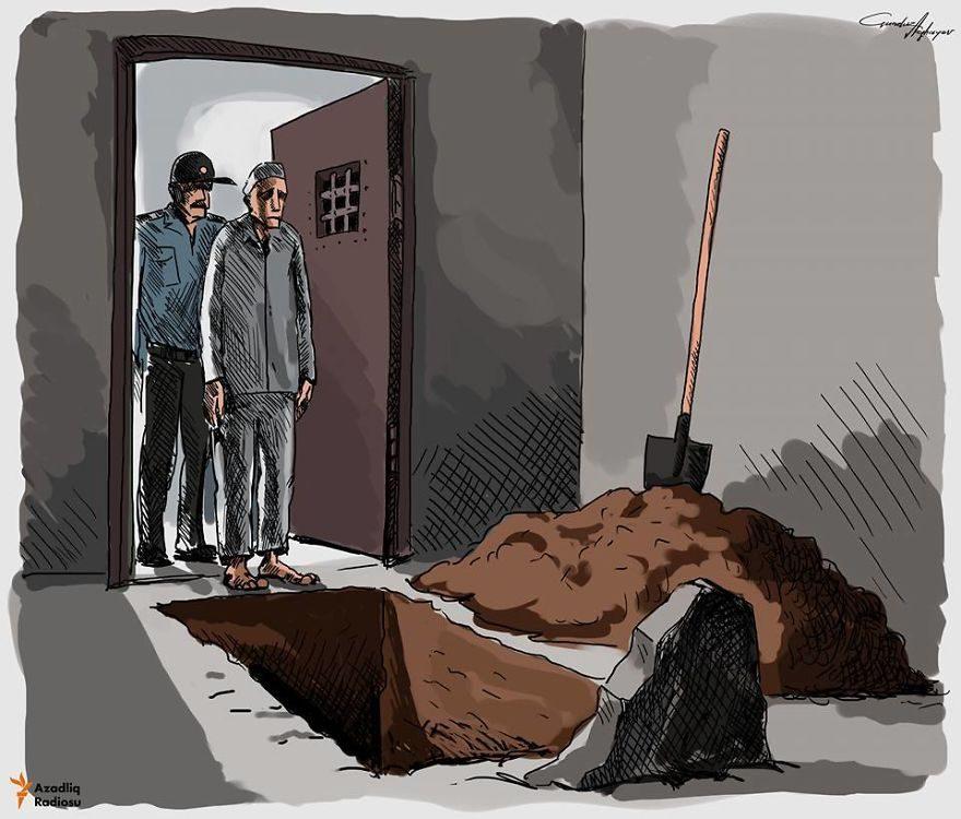 13张没有世界观的人会看不懂的社会黑暗面「反讽插画」! -5a0becd5710d2