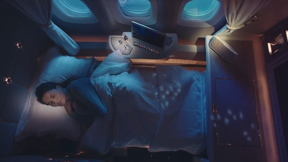 阿联酋再推「超奢华私人座舱」!座椅采宾士真皮、NASA科技,内有酒吧、电视、虚拟窗户…坐一次要27万! -5a0bf0d8d36f8