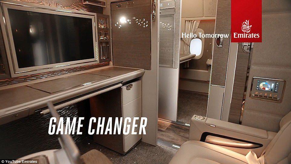 阿联酋再推「超奢华私人座舱」!座椅采宾士真皮、NASA科技,内有酒吧、电视、虚拟窗户…坐一次要27万! -5a0bf0d9cb643