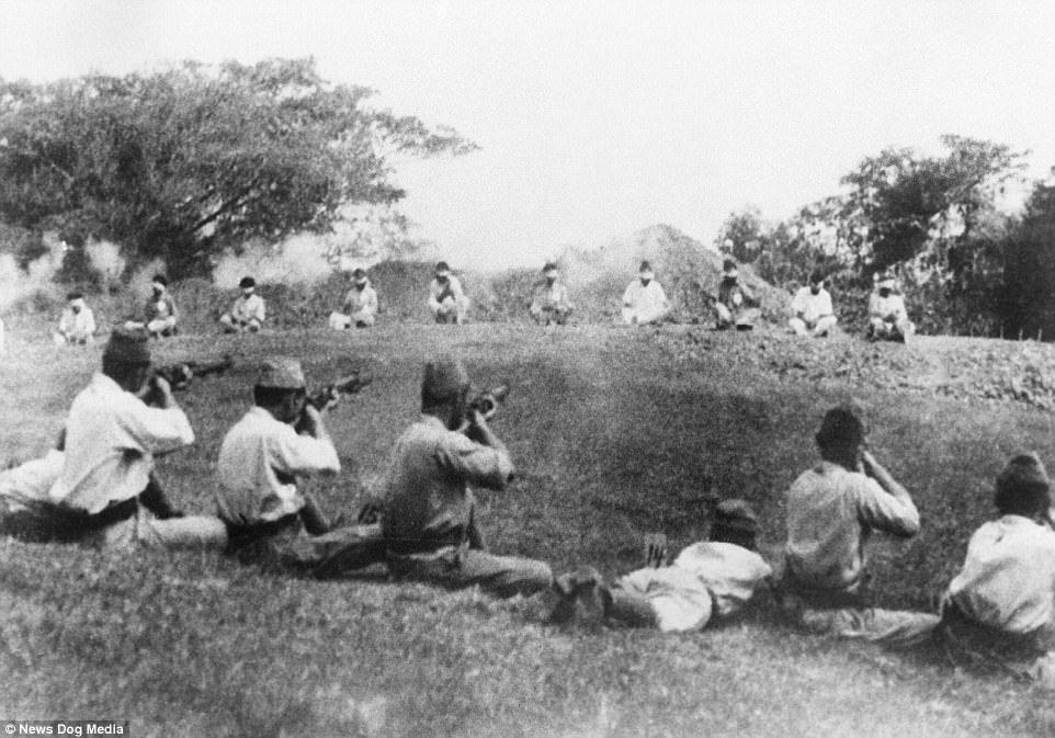 13张历史课本没收录的「二战时日军残忍暴行历史照」,把活人当枪靶还不是最恐怖的… -5a0bfb604d2f2