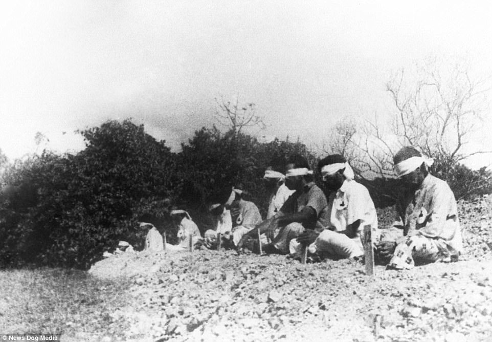 13张历史课本没收录的「二战时日军残忍暴行历史照」,把活人当枪靶还不是最恐怖的… -5a0bfb61abf6b