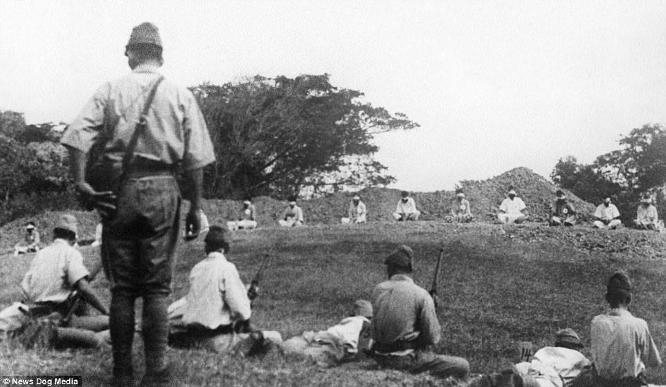 13张历史课本没收录的「二战时日军残忍暴行历史照」,把活人当枪靶还不是最恐怖的… -5a0bfb627addd