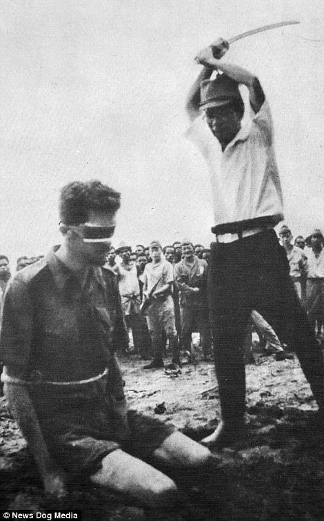 13张历史课本没收录的「二战时日军残忍暴行历史照」,把活人当枪靶还不是最恐怖的… -5a0bfb6490e08