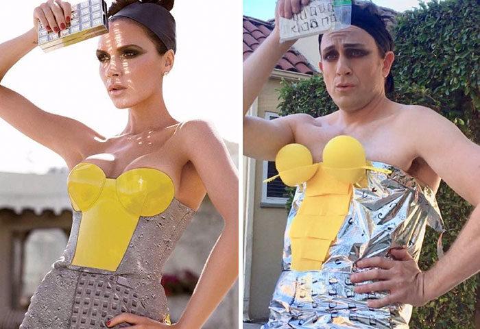 好萊塢男明星「用超低成本重現巨星時尚」女神卡卡完全神還原!